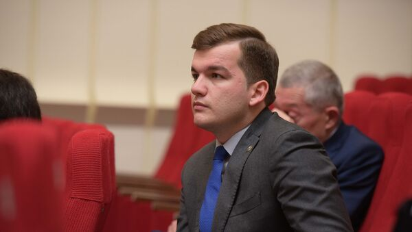 Заместитель главы МИД РА Кан Тания на подведении итогов седьмого абхазо-российского делового форума - Sputnik Абхазия