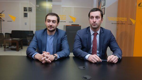 Алмас Тания и Батал Тарба - Sputnik Абхазия