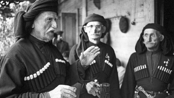 Долгожители из абхазского села Джерда - Sputnik Абхазия