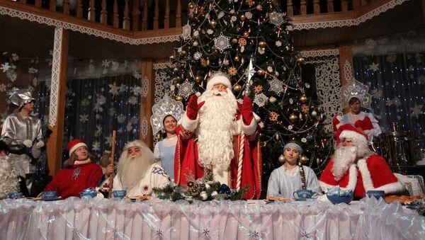 Празднование дня рождения Деда Мороза в Великом Устюге - Sputnik Абхазия