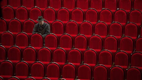 Архивное фото зрительного зала - Sputnik Абхазия