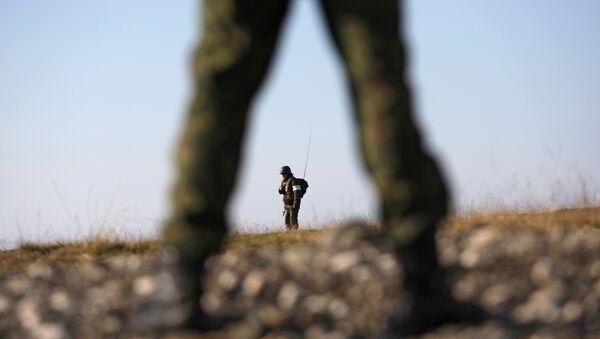 Седьмая Краснодарская Краснознаменная военная база в городе Очамчира - Sputnik Абхазия