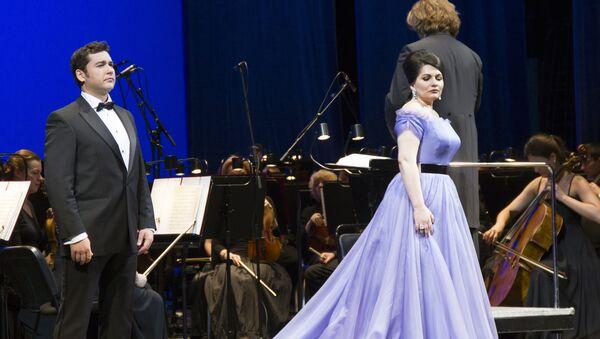 Открытие XVI фестиваля Хиблы Герзмава 17 ноября в Москве - Sputnik Абхазия
