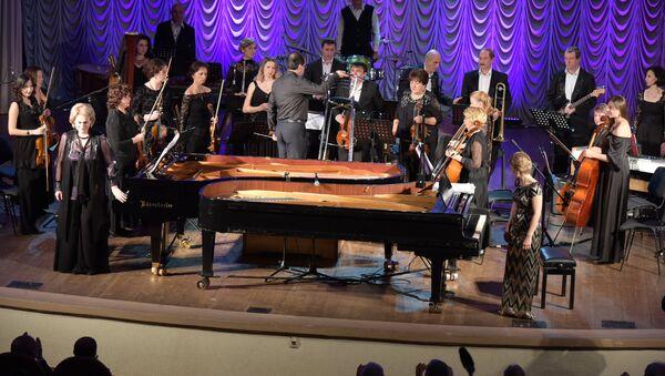 Концерт двух фортепиан с участием Нинель Бжания и Гулизы Авидзба - Sputnik Аҧсны