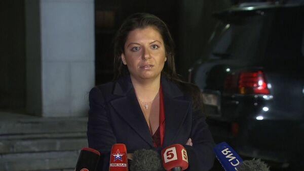 Симоньян о принятии Европарламентом резолюции о противодействии российским СМИ - Sputnik Абхазия