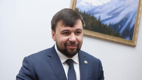 ДЖәР Жәлар Рхеилак ахантәаҩы Денис Пушилин - Sputnik Аҧсны