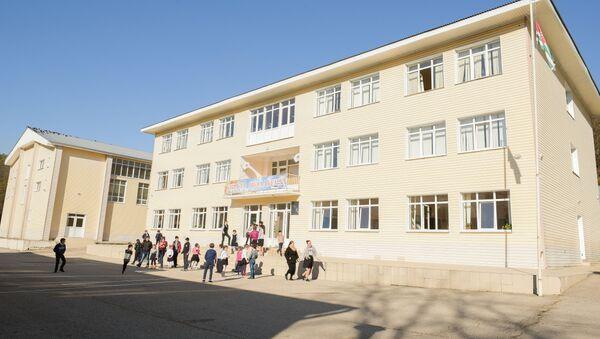 Школа в селе Калдахуара в Гудаутском районе Абхазии - Sputnik Аҧсны