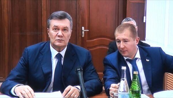 Янукович выразил возмущение переносом его допроса по делу о беспорядках на Майдане - Sputnik Абхазия