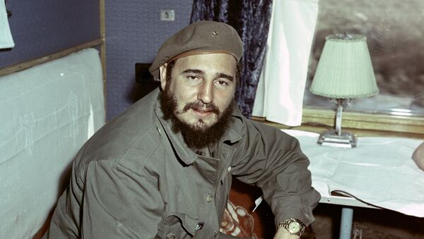 Архивное фото Фиделя Кастро - Sputnik Абхазия