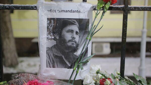 Лидер кубинской революции, бывший председатель Государственного совета и Совета министров Кубы Фидель Кастро скончался 25 ноября 2016 года на 91 году жизни - Sputnik Абхазия