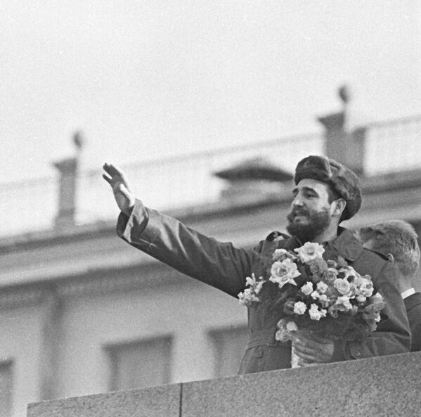 Премьер-министр Революционного правительства Кубы Фидель Кастро - Sputnik Абхазия