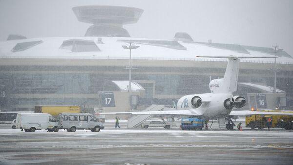 Москватәи аеропортқәа рҟны аԥыррақәа аанкылоуп - Sputnik Аҧсны