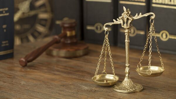 Весы Фемиды, судейский молоток и юридическая литература - Sputnik Абхазия