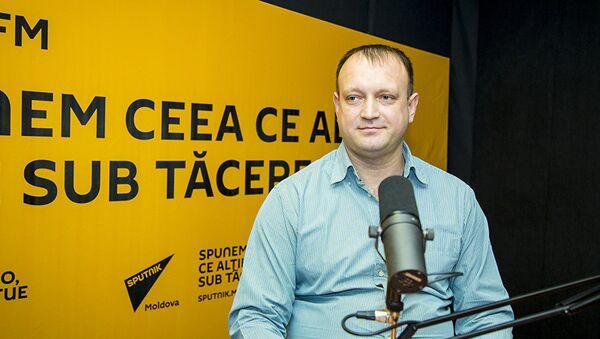 Кинето-терапевт высшей категории Родион Узун в студии Sputnik Молдова - Sputnik Абхазия