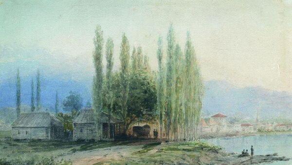 Лев Лагорио Сухум-Кале 1873 шықәса - Sputnik Аҧсны