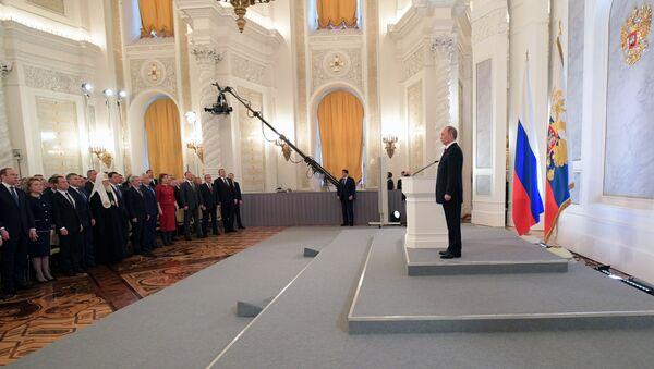 Ежегодное послание президента РФ В. Путина Федеральному Собранию - Sputnik Абхазия