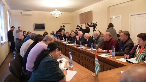 Единая Абхазия заявила о необходимости политической стабильности - Sputnik Абхазия