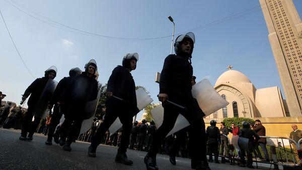 На месте взрыва в коптском храме в Каире - Sputnik Абхазия