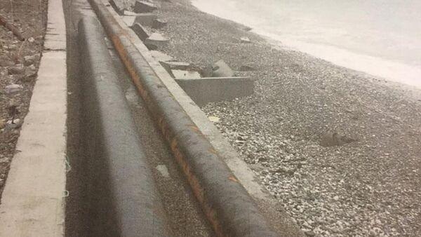 Государственная компания Апсныргылара приступила к разработке проекта восстановления берегоукрепительной стены в городе Гагра. - Sputnik Абхазия