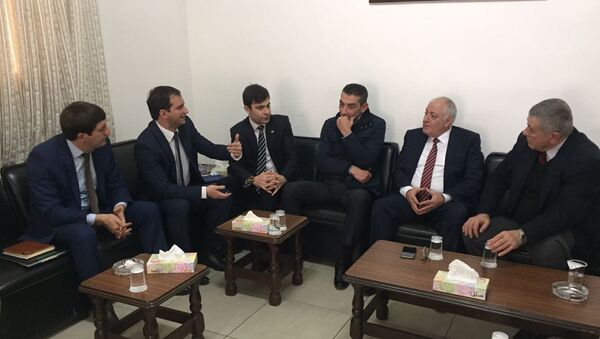 Делегация Абхазии в Иордании. - Sputnik Аҧсны