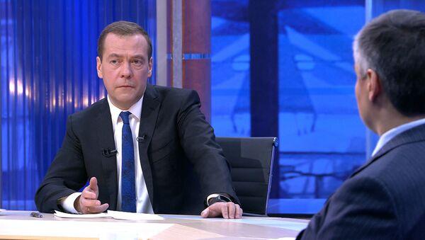 Дмитрий Медведев о Трампе, Тиллерсоне и взаимодействии с США - Sputnik Абхазия