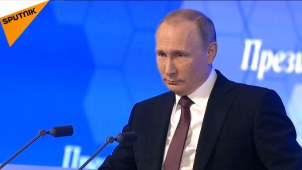 СПУТНИК_LIVE: Большая пресс-конференция президента РФ Владимира Путина - Sputnik Абхазия