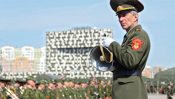 Главный военный дирижер, генерал-лейтенант Валерий Халилов - Sputnik Абхазия