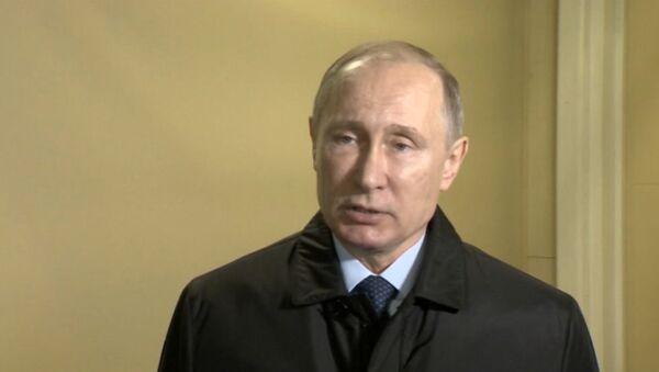 Путин выразил соболезнования в связи с крушением Ту-154 и объявил о трауре - Sputnik Абхазия