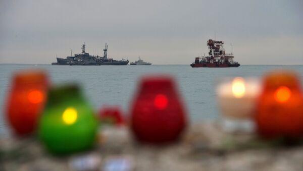Поисковые работы в акватории Черного моря в районе крушения самолета ТУ-154 - Sputnik Абхазия