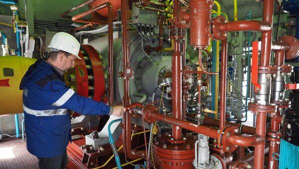 Архивное фото комплекса подготовки и транспортировки экспортного газа КС Краснодарская - Sputnik Абхазия