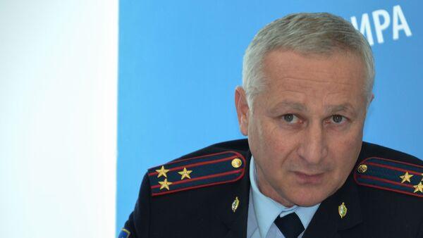 Руководитель управления по воспитательной работе МВД Абхазии Леван Кварацхелия  - Sputnik Абхазия