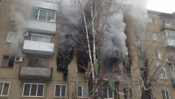 Взрыв газа в Саратове, в доме обрушились перекрытия между 2 и 4 этажами - Sputnik Абхазия