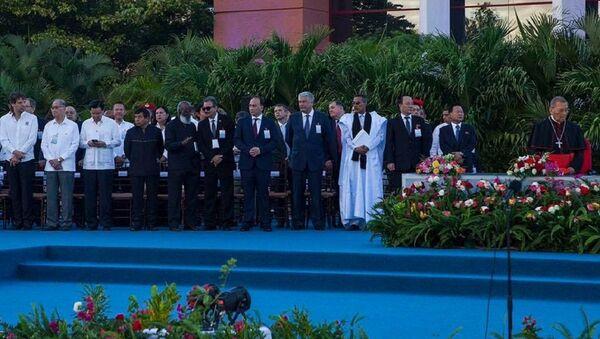 Визит делегации МИД Абхазии во главе с министром Дауром Кове в Республику Никарагуа - Sputnik Абхазия