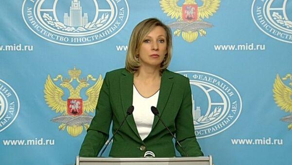 Мария Захарова о перспективах отношений России и США - Sputnik Абхазия