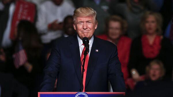 ЕАШ апрезидент Дональд Трамп - Sputnik Аҧсны
