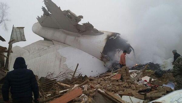 Грузовой Boeing 747-400 разбился в Бишкеке - Sputnik Аҧсны
