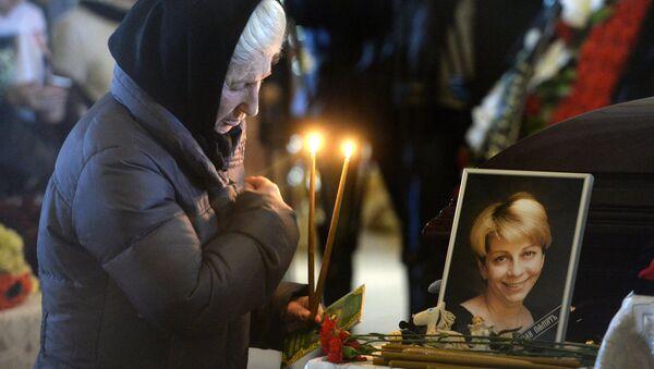Прощание с погибшими при крушении самолета Ту-154 - Sputnik Абхазия