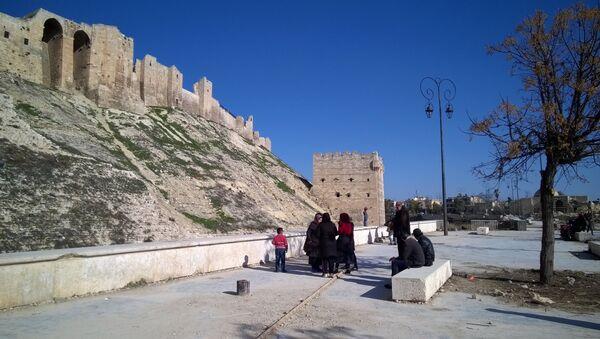 Цитадель Алеппо в Сирии - Sputnik Абхазия