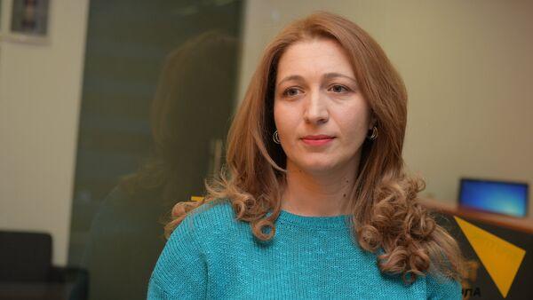 Кристина Лакербая - Sputnik Абхазия