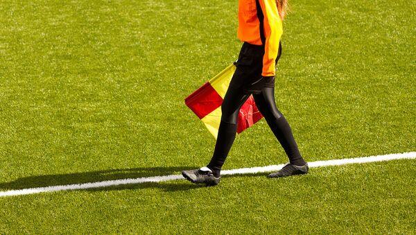Судья в женском футболе - Sputnik Аҧсны