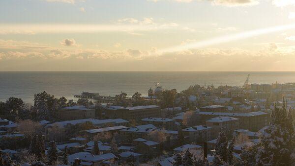 Зима в Абхазии - Sputnik Абхазия