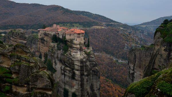 Монастыри Метеоры в Греции - Sputnik Абхазия