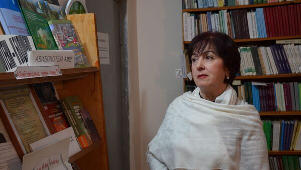 Библиотекарь Эмма Бобуа - Sputnik Абхазия