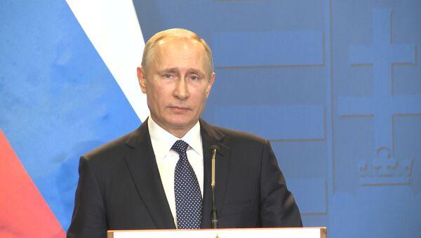 Путин о заинтересованности Киева в конфликте в Донбассе - Sputnik Абхазия
