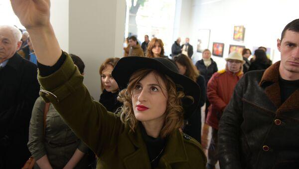Открытие центрального выставочного зала в Сухуме - Sputnik Абхазия