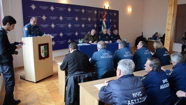 Более тысячи происшествий, 15 погибших: МЧС Абхазии подвело итоги 2016 года - Sputnik Абхазия