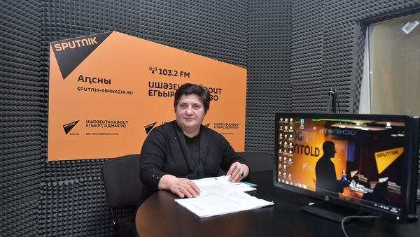 Эмма Хварцкия - Sputnik Абхазия