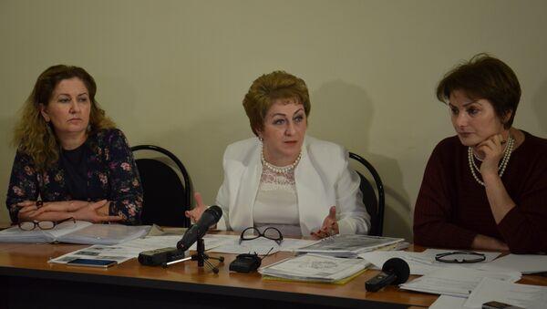 Государственный Фонд развития абхазского языка провел итоговую пресс-конференцию. - Sputnik Абхазия