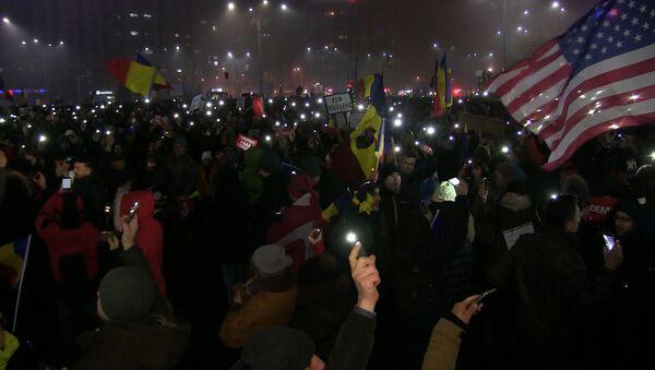 Волнения в Бухаресте - Sputnik Абхазия