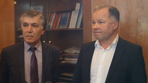 Встреча Гоова и Олейникова - Sputnik Абхазия